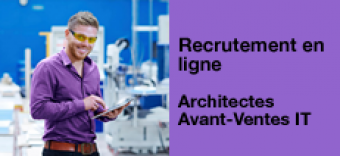 Recrutement en ligne : rejoignez l'équipe d'Architectes Avant-Ventes IT Orange Cloud for Business et Neocles