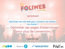 Site web 3/3 : Optimiser ses pages d'atterrissage pour plus de conversion